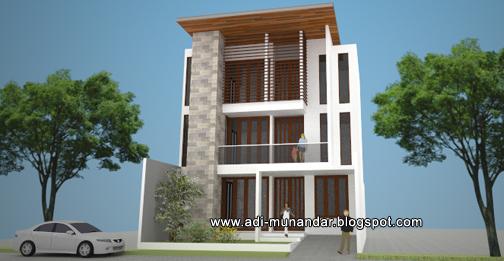 desain arsitek jakarta-rumah 3lantai mangga besar jakarta-rumah tropis moderen-lahan sempit-arsitek bali-surabaya4